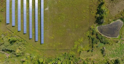 First Community Solar farm New York State
