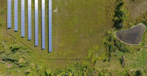 First Community Solar farm New York State