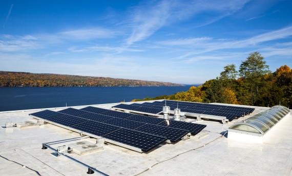 Renovus Solar in New York community solar manufacturing and installation