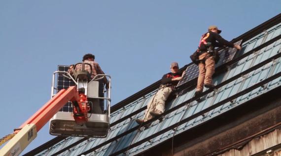 Renovus Solar in Ithaca renewable energy solar panel installation